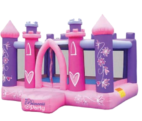 jeux gonflables, chateau de princesse