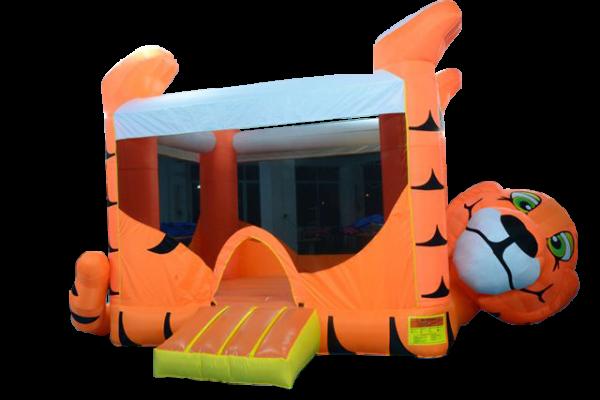 jeux gonflables, tigre